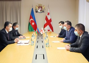 Azerbaijani Ambassador meets with Georgian Interior Minister