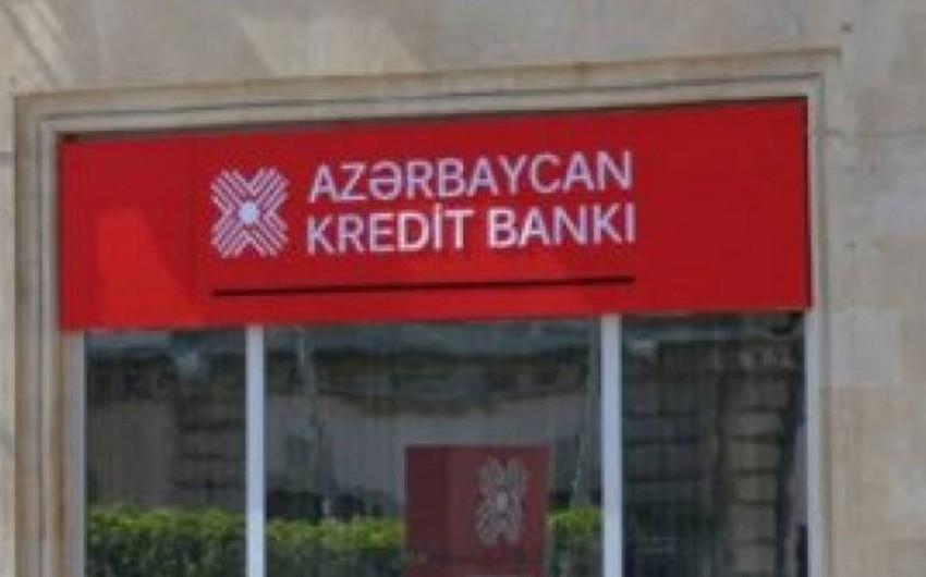 Azərbaycan Kredit Bankının əmlakının satışına başlanılıb