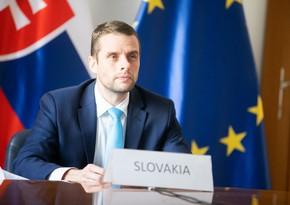 Dövlət katibi: Azərbaycan Slovakiya üçün Cənubi Qafqazda vacib tərəfdaşdır