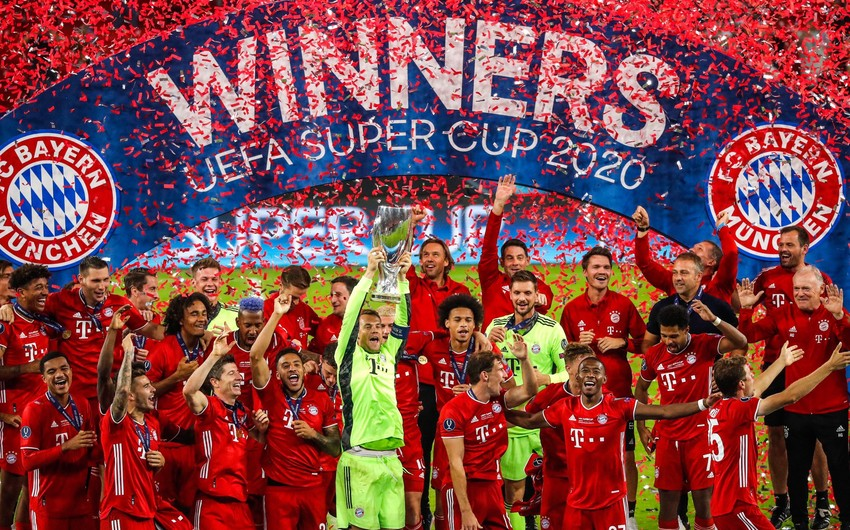 Бавария выиграла Суперкубок УЕФА
