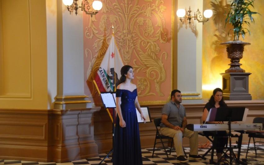 Kaliforniya Ştat Senatında ilk dəfə Azərbaycan musiqisi təqdim olunub