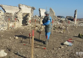 Liberated Jojug Marjanli village clearing of mines - PHOTO REPORT