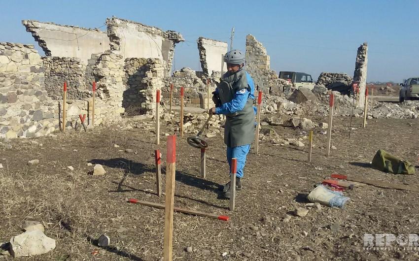 Liberated Jojug Marjanli village clearing of mines - PHOTO REPORT