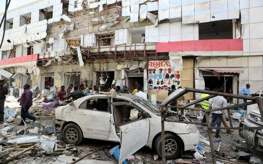 Somalidə partlayış törədilib, ölən və yaralananlar var - FOTO