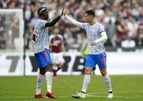 Гол Роналду помог Манчестер Юнайтед обыграть Вест Хэм