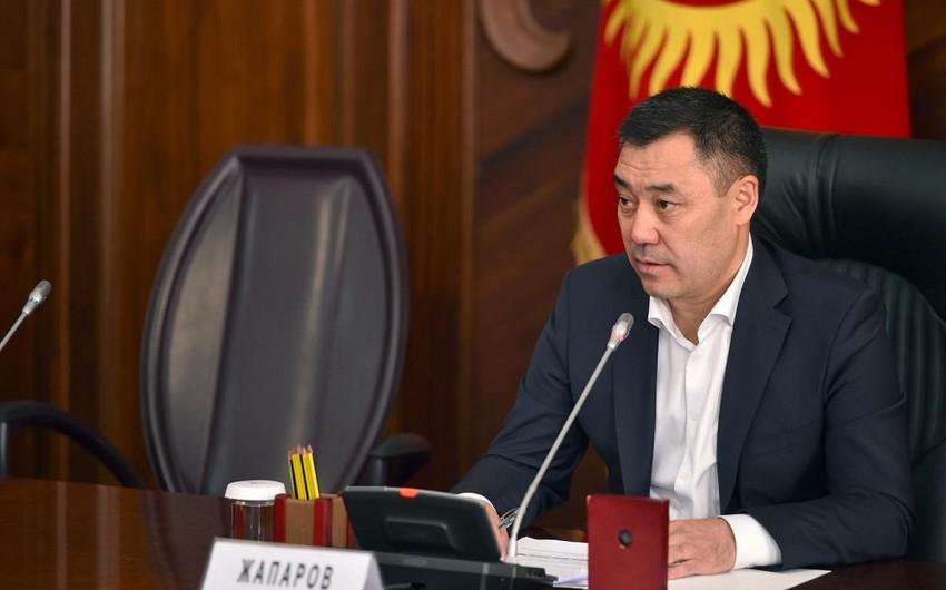 Qırğızıstanda prezident seçkilərində Sadır Japarov qalib gəlir