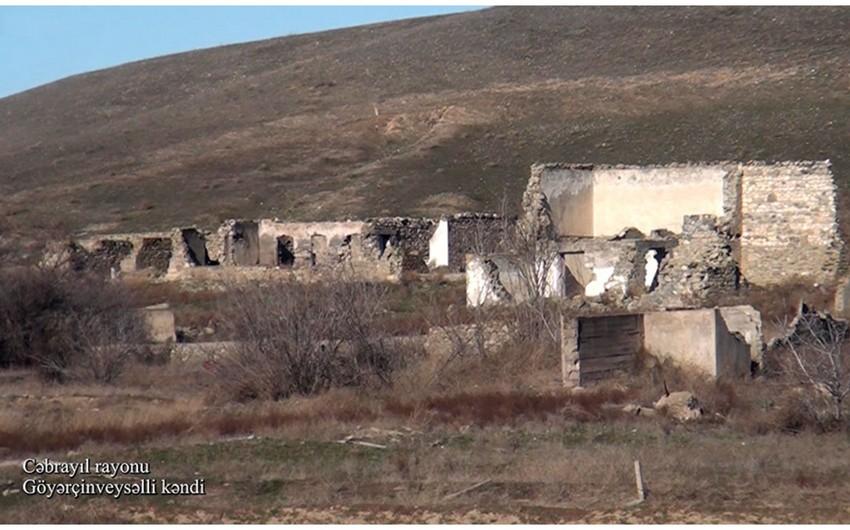 Footage of Goyarchinveysalli village of Jabrayil