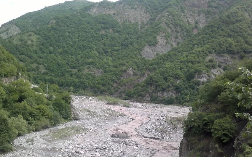 ETSN: Talaçay və Zaqatala məntəqəsindən sel keçdi
