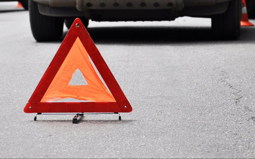 Cəlilabadda avtomobil qəzası baş verib