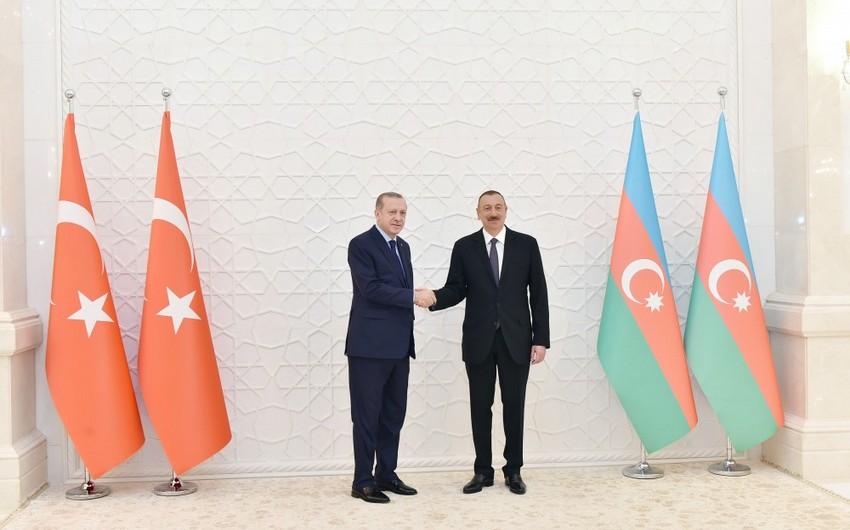 Президент Азербайджананаправил письмо Реджепу Тайипу Эрдогану