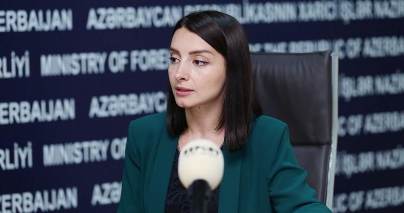 Лейла Абдуллаева: Призываем Армению принять сложившиеся в регионе новые реалии