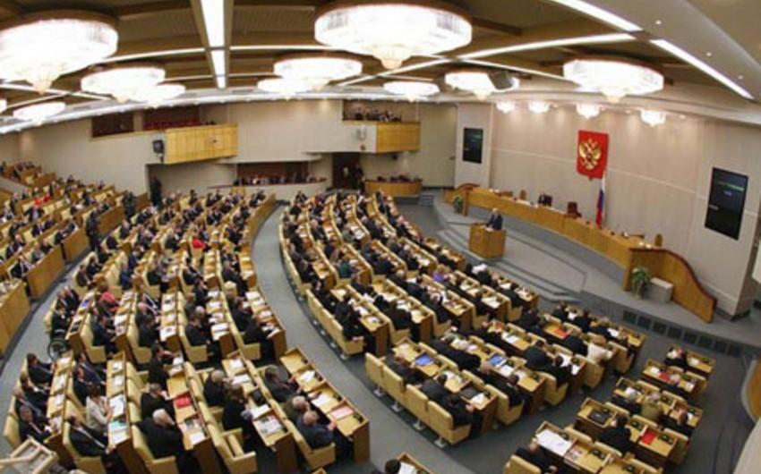 Rusiya Dövlət Duması ABŞ sanksiyalarının icrasına görə cəza tətbiq etməyi düşünür