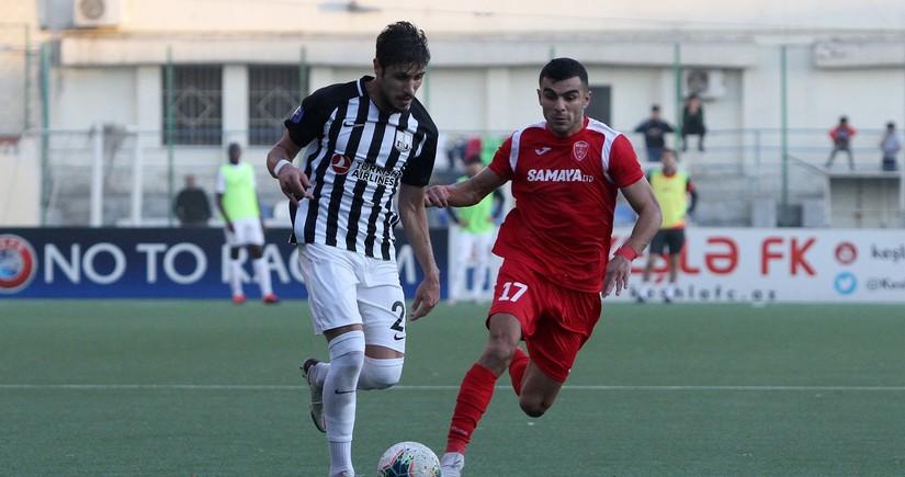 Keşlənin futbolçusu Azərbaycan çempionatında 100-cü oyununu keçirib