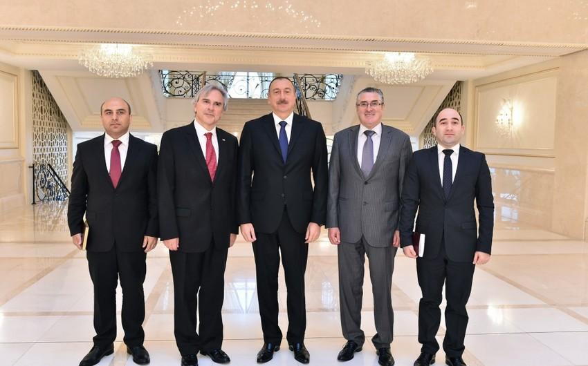 Azərbaycan Prezidenti Çili parlamentinin nümayəndə heyətini qəbul edib - ƏLAVƏ OLUNUB