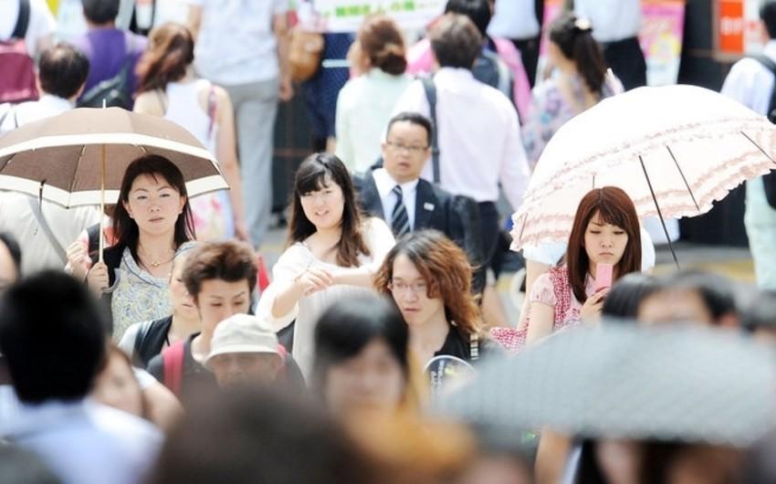 Yaponiyada 3 minə yaxın insan günvurmadan xəstəxanaya yerləşdirilib