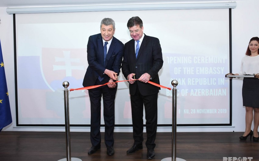 Slovakian opens its embassy in Baku