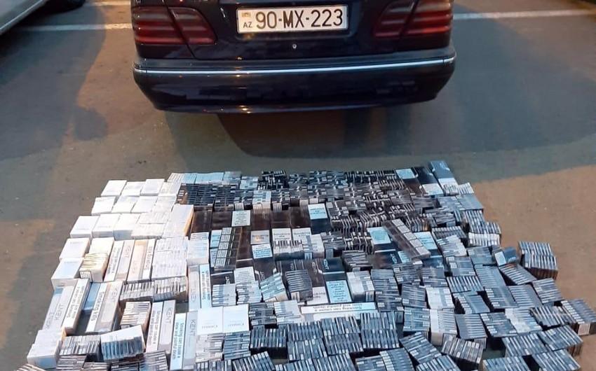 Azərbaycanda külli miqdarda aksiz markası olmayan siqaretin realizə edilməsinin qarşısı alınıb