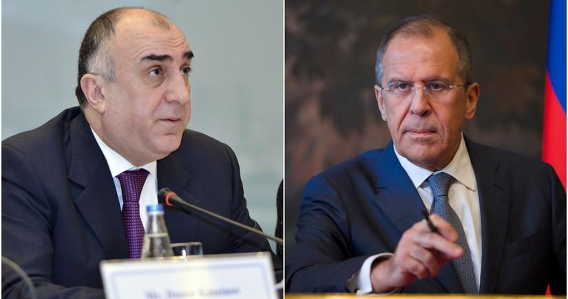 Elmar Mammadyarov, Sergey Lavrov discuss border clash
