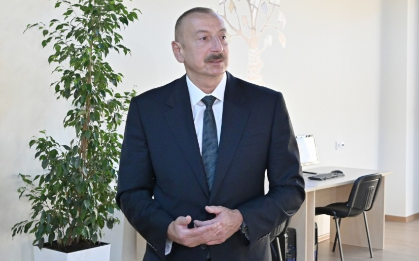 İlham Əliyev: Biz daxili tələbatı nə qədər mümkünsə, yerli məhsullar hesabına təmin etməliyik