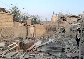Gəncədə raket zərbələri nəticəsində 20-yə yaxın ev dağılıb