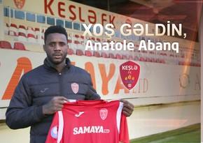 Keşlə Kamerun millisinin sabiq futbolçusu ilə müqavilə imzaladı