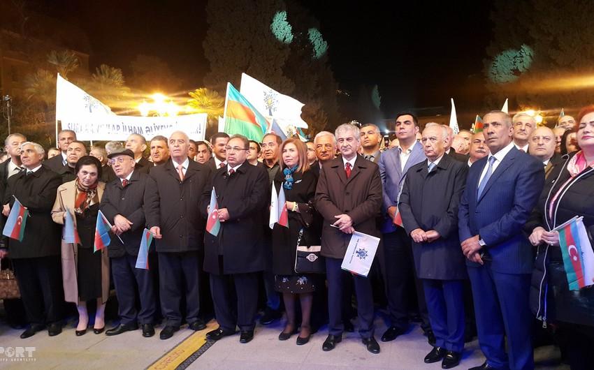 YAP Bakının mərkəzində qələbə mitinq-konserti keçirib - FOTO