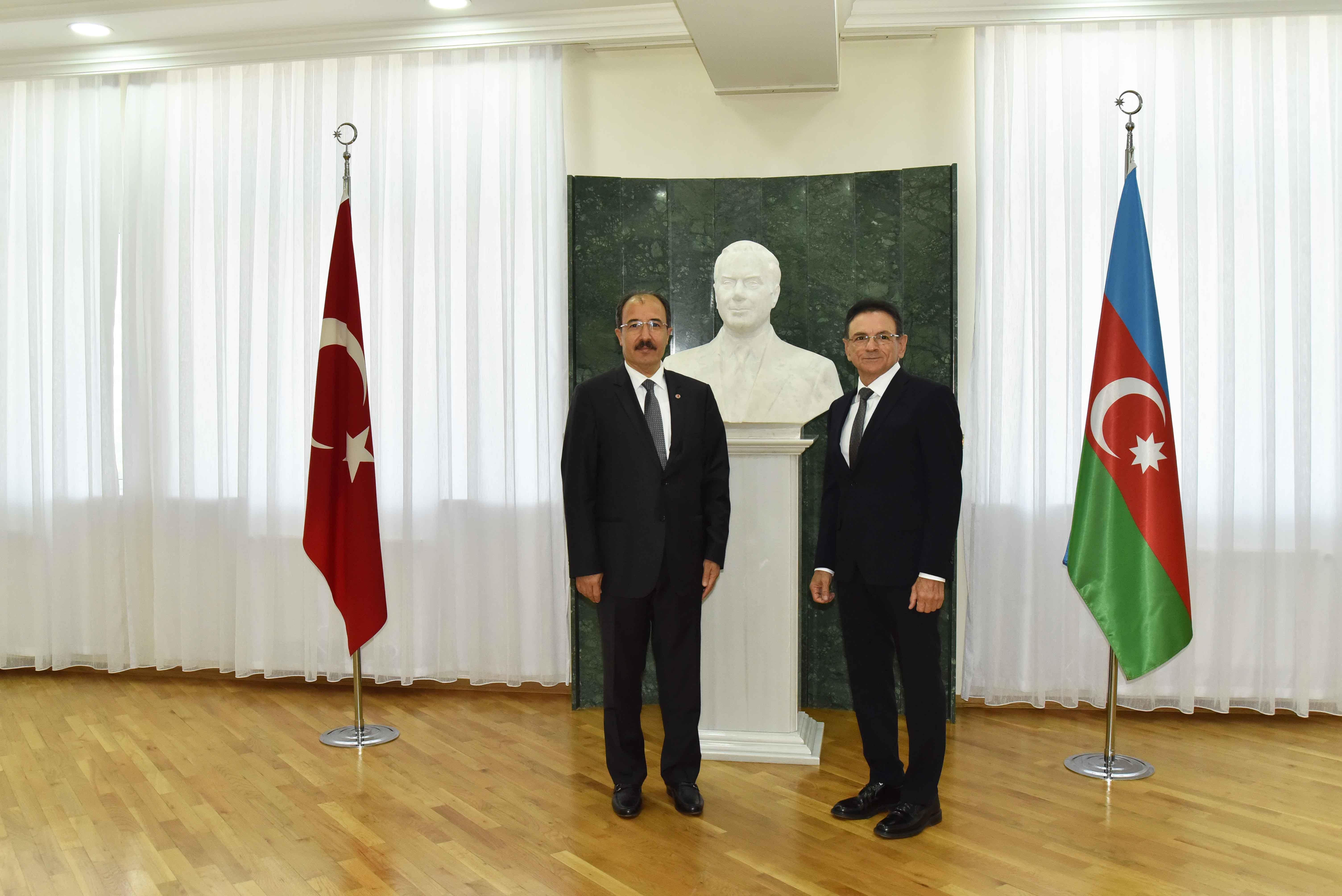 Cahit Bağçı və Mədət Quliyev