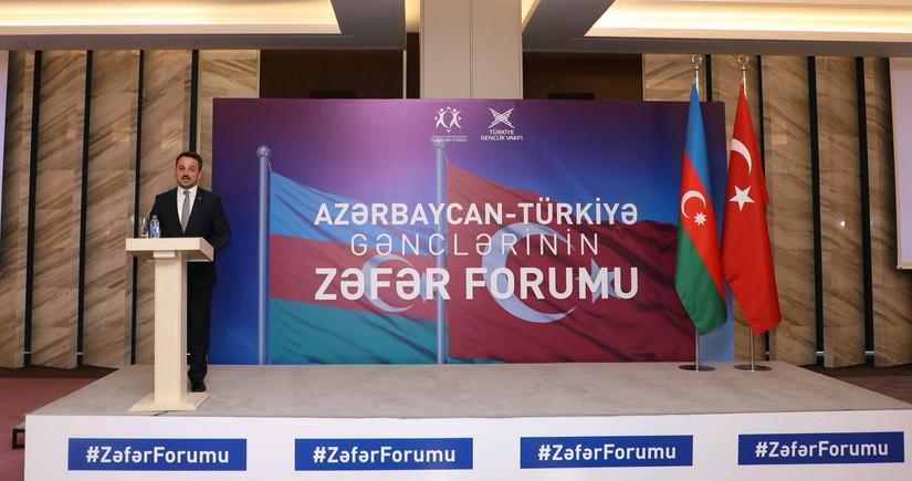 Azərbaycan və Türkiyə gənclərinin Zəfər Forumu keçirilib