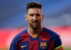 Barselona Messini xüsusi hədiyyə ilə mükafatlandırdı