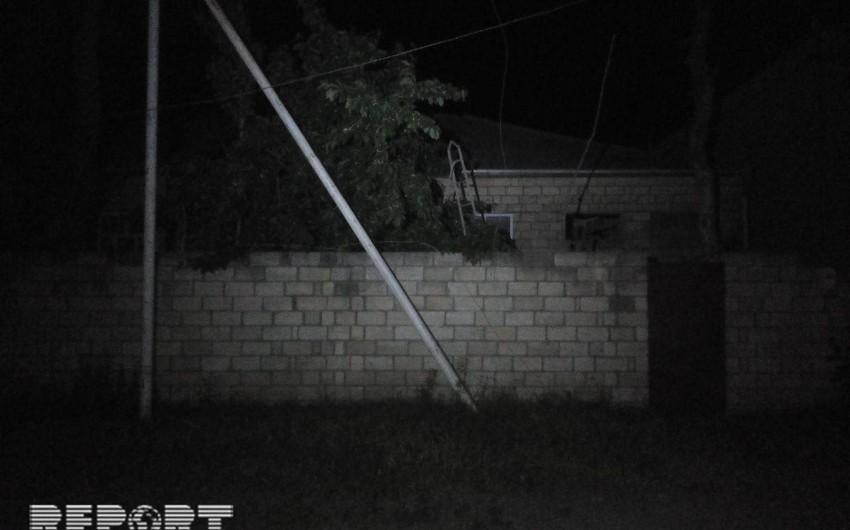 Quba sakini elektrik cərəyanı vurması nəticəsində ölüb - FOTO