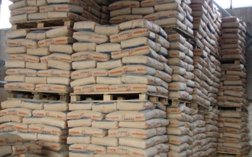 Azərbaycan sement istehsalını 41% artırıb
