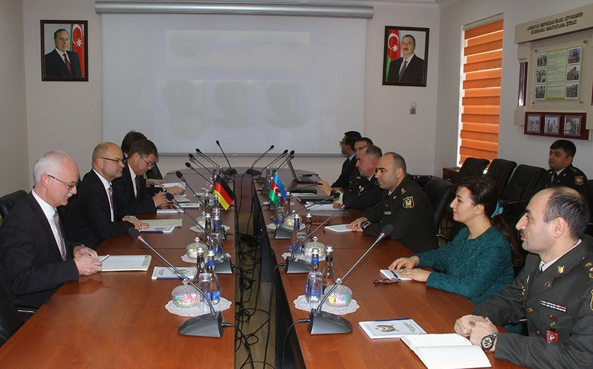Azerbaijani and German military legal experts hold meeting