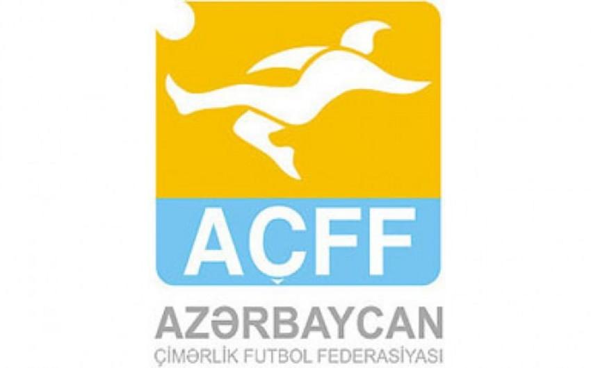 Çimərlik futbolu üzrə Azərbaycan millisi Dubayda iki yoldaşlıq oyunu keçirəcək