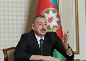 """İlham Əliyev: """"Artıq Ermənistandan ötrü heç kim vuruşmayacaq"""""""