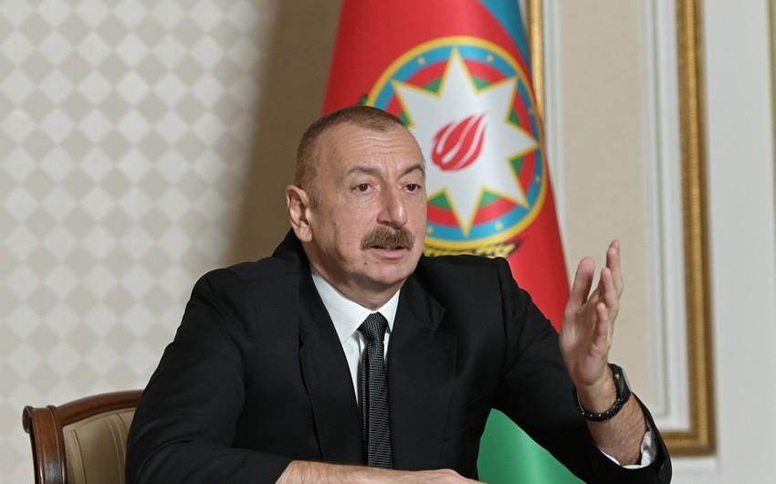 Azərbaycan Prezidenti: İraqa tətbiq olunan sanksiyalardan hətta biri Ermənistana tətbiq edilsəydi, münaqişə çoxdan həll edilərdi