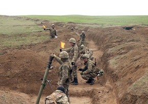 Live-fire training exercises of mortar batteries continue