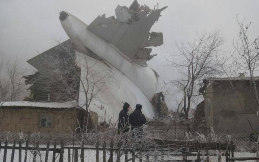 Bişkekdə yük təyyarəsinin düşdüyü binanın dağıntıları altından 11 nəfər xilas edilib