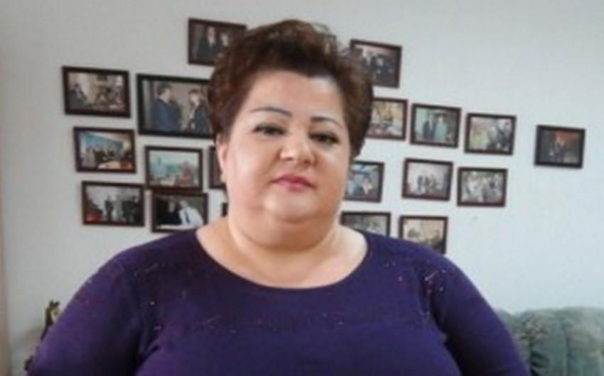 Xalq artisti Könül Xasıyeva konsertə hazırlaşır