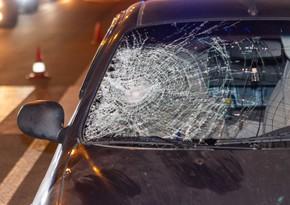 Авария в Баку, есть пострадавшая