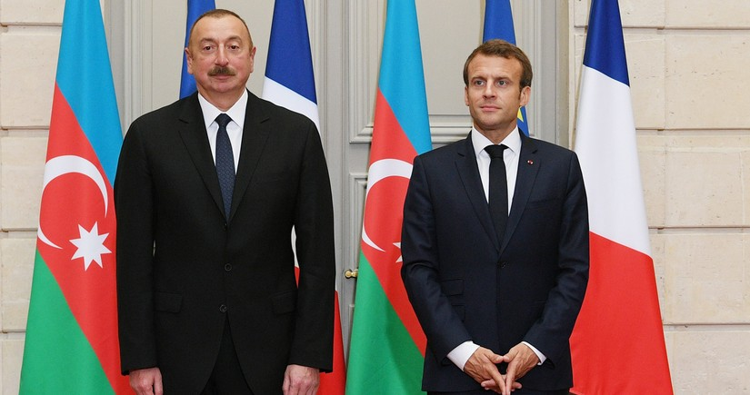 Azerbaijan, France discuss situation on frontline