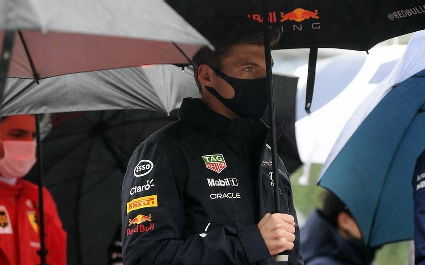 Formula 1: Ferstappen yarımçıq qalmış Belçika Qran prisinin qalibi elan edilib