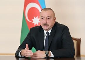 Azərbaycan Prezidenti: Ermənistan növbəti dəfə tarixi şansı itirə bilər