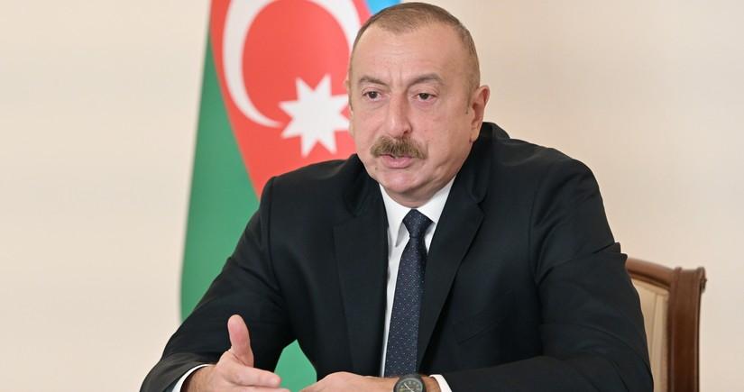 Azərbaycan Prezidenti: Biz sülh istəyirik və bu gün sülhü təbliğ edirik
