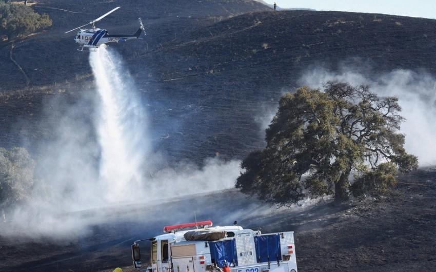 Kaliforniyadakı meşə yanğınları səbəbindən 2 xilasedici həlak olub