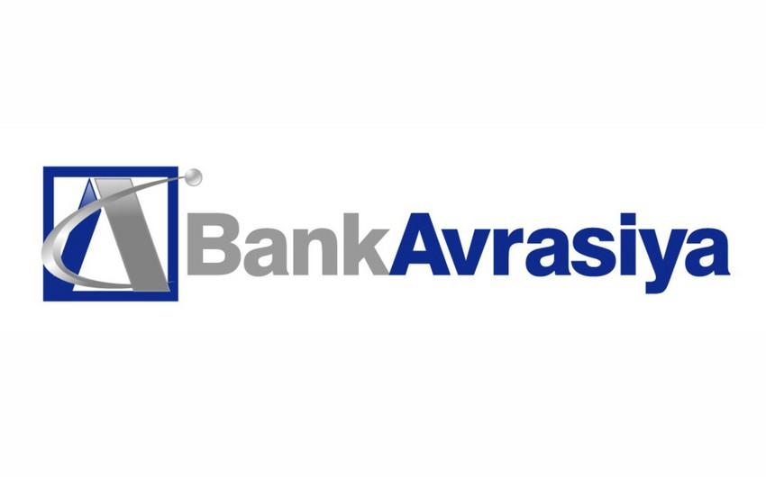Bank Avrasiya yanvar-iyul aylarını 5,6 mln. manat xalis mənfəətlə başa vurub