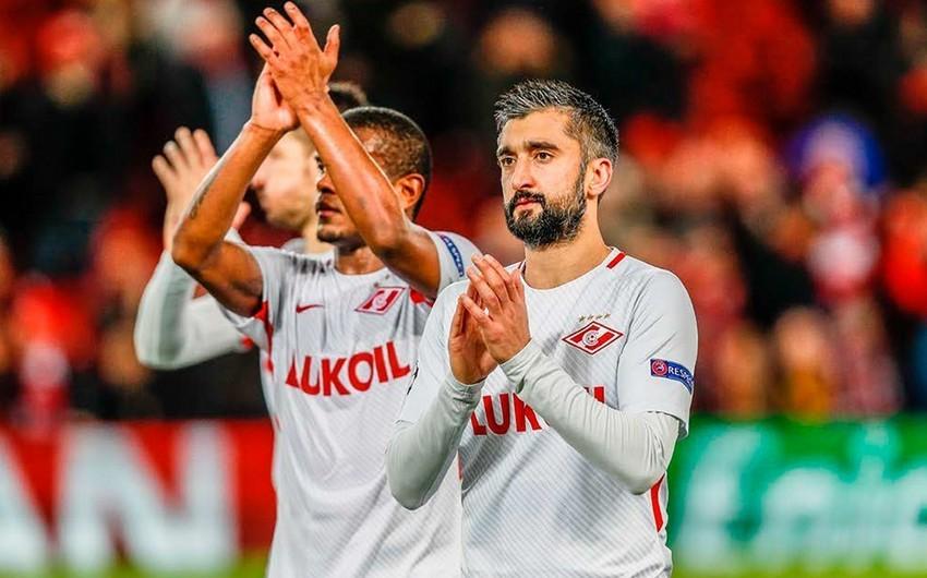 Spartak klubu Aleksandr Səmədovla yollarını ayırıb