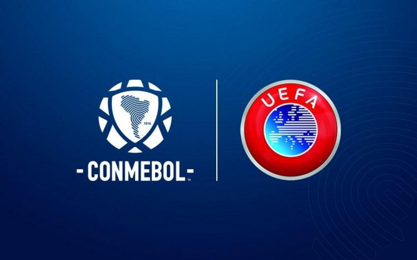 UEFA və CONMEBOL qitə çempionlarının üz-üzə gələcəyini təsdiqləyib