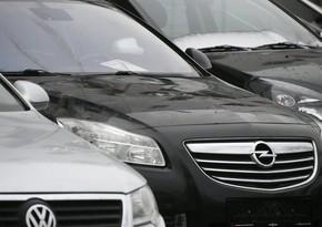 Avropa İttifaqında yeni avtomobillərin satışı xeyli artıb