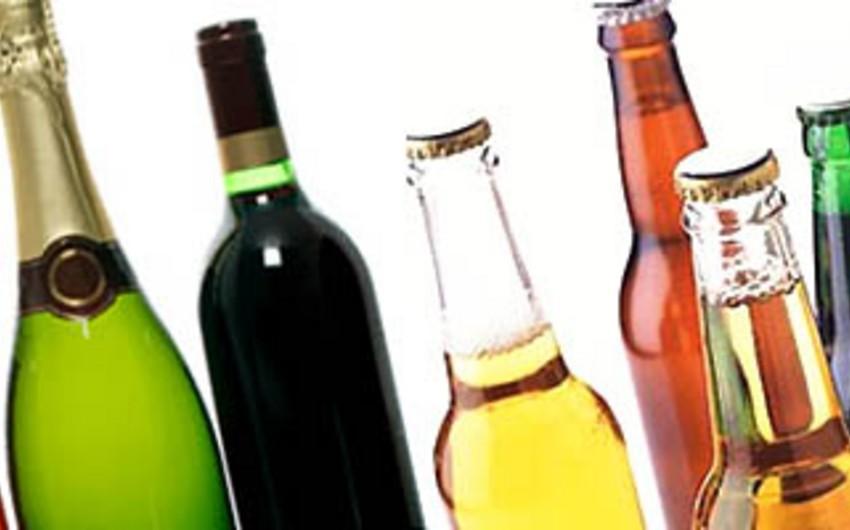 Azərbaycan spirtli və spirtsiz içkilərin idxalını 12% artırıb