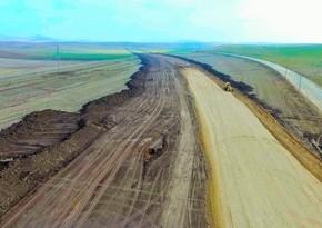 İşğaldan azad edilmiş ərazilərdə 80 km yeni yol çəkilib